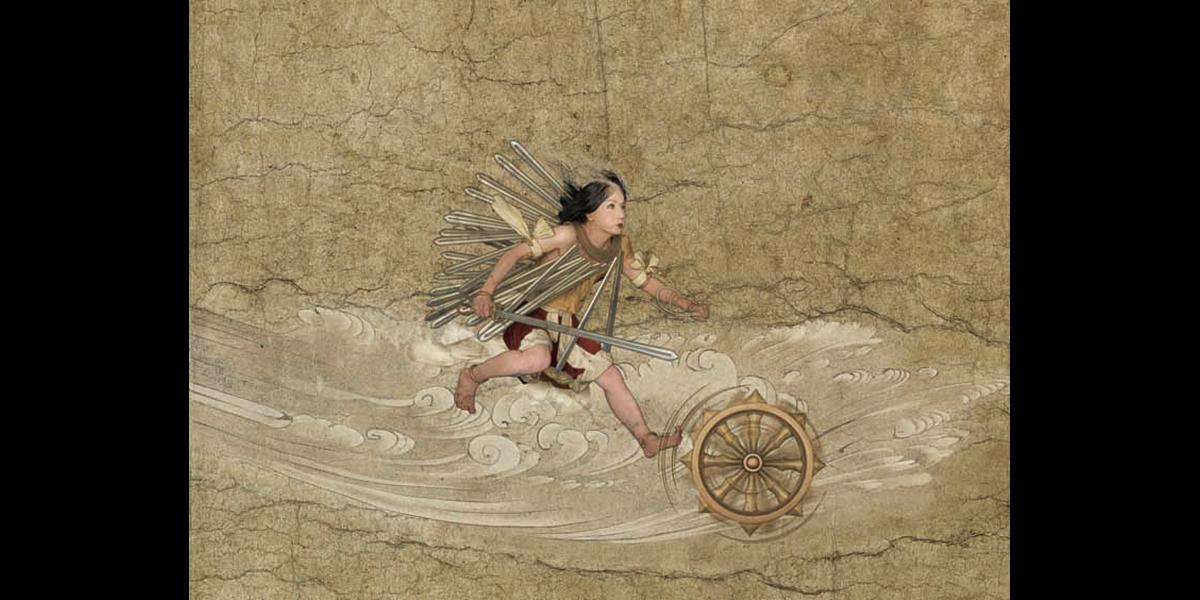 《野にありて飛べ (出没)》2006年